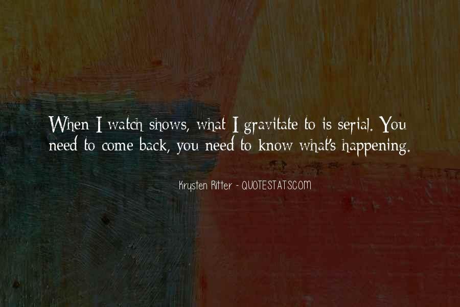 Krysten Ritter Quotes #54128