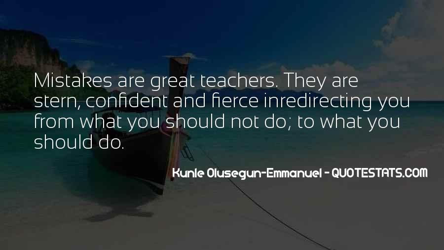 Kunle Olusegun-Emmanuel Quotes #1111179
