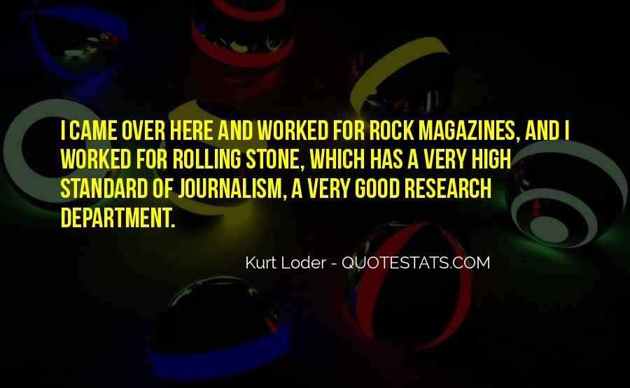 Kurt Loder Quotes #1453645