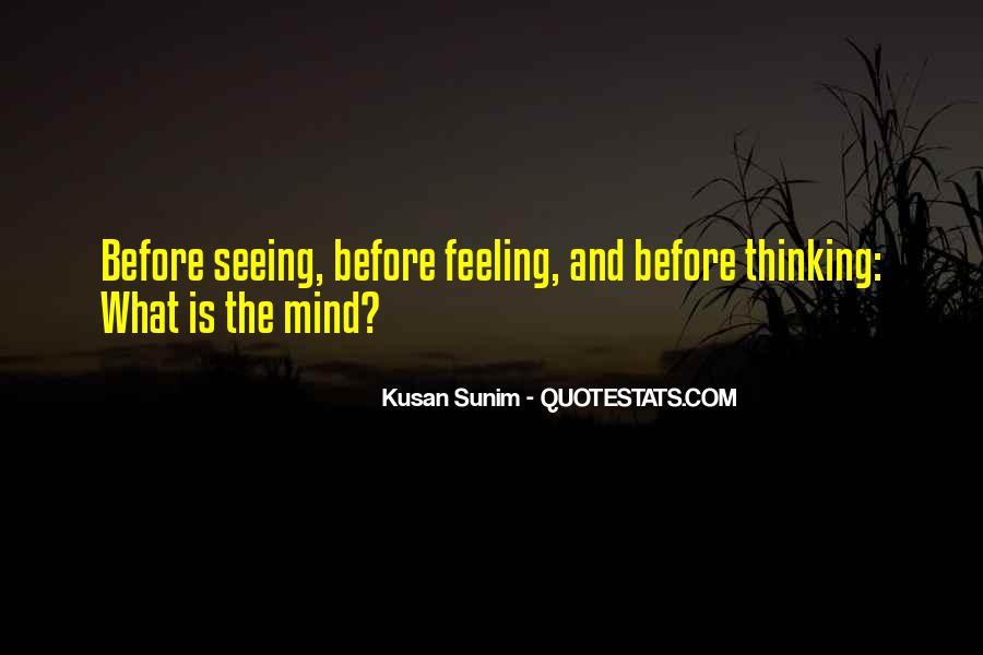 Kusan Sunim Quotes #1685176
