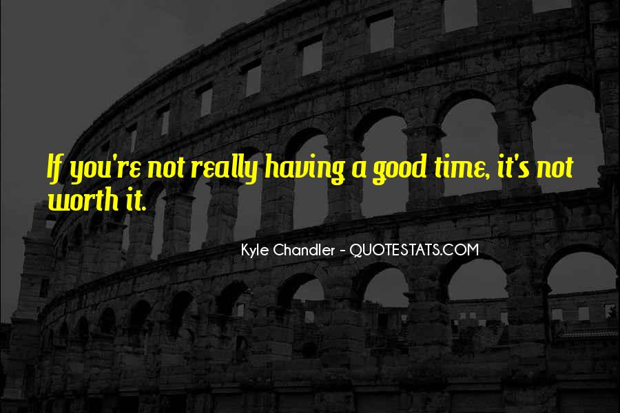 Kyle Chandler Quotes #93723