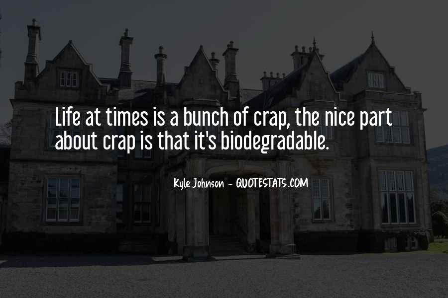 Kyle Johnson Quotes #126854