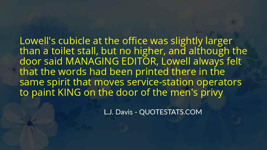 L.J. Davis Quotes #754148