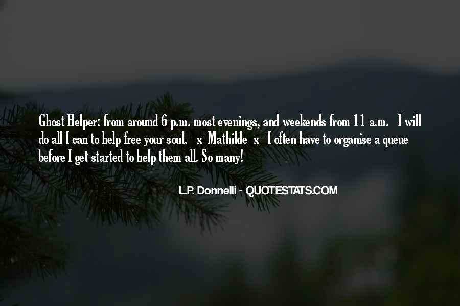 L.P. Donnelli Quotes #1697303
