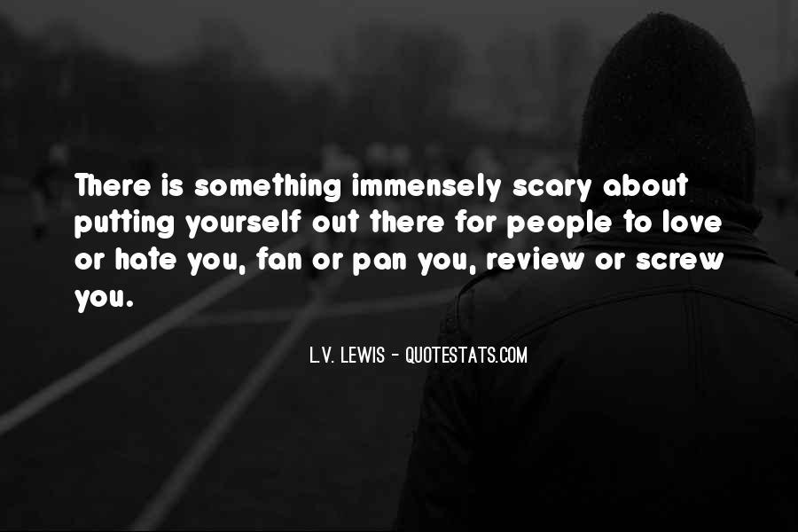 L.V. Lewis Quotes #1007772