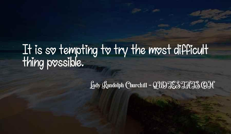Lady Randolph Churchill Quotes #682216