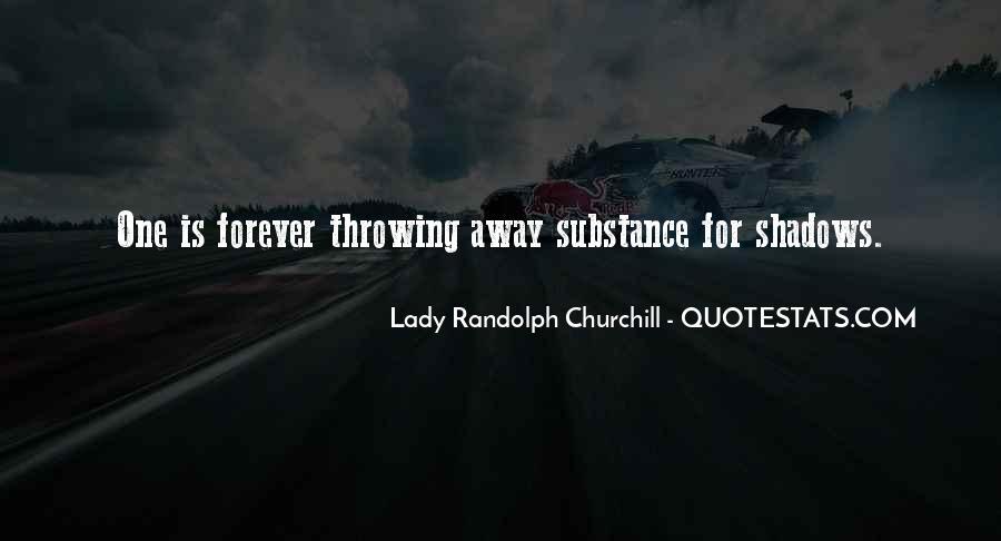 Lady Randolph Churchill Quotes #980590