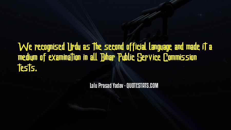 Lalu Prasad Yadav Quotes #1043106