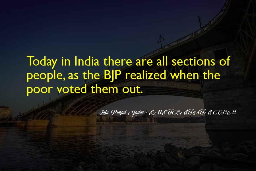 Lalu Prasad Yadav Quotes #1097858