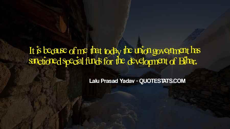 Lalu Prasad Yadav Quotes #162156