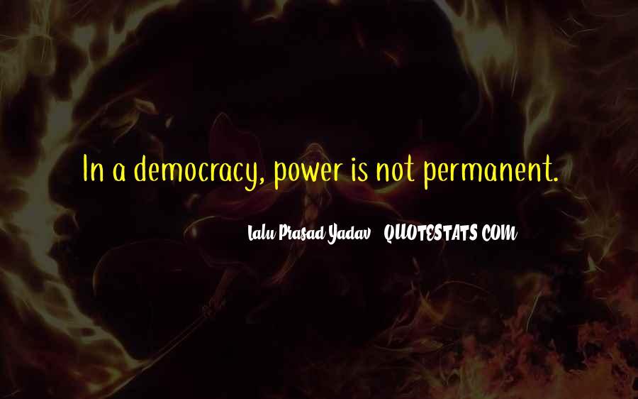 Lalu Prasad Yadav Quotes #656286