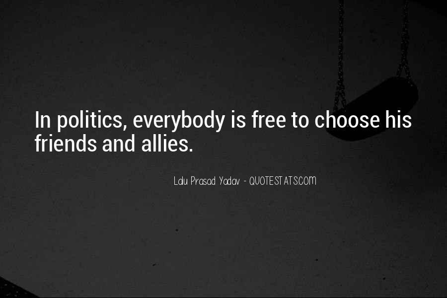 Lalu Prasad Yadav Quotes #963359
