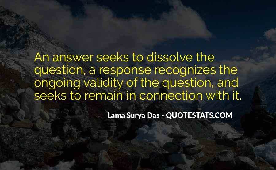 Lama Surya Das Quotes #1051521