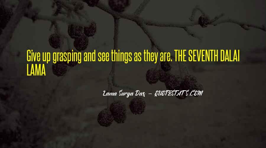 Lama Surya Das Quotes #882327