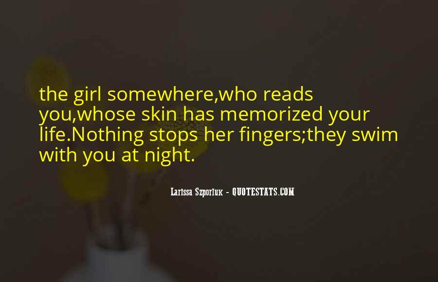 Larissa Szporluk Quotes #1307096