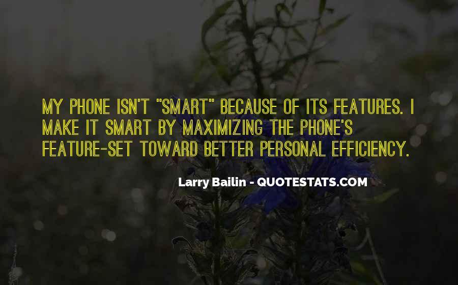 Larry Bailin Quotes #149296
