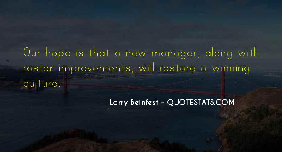 Larry Beinfest Quotes #1202256