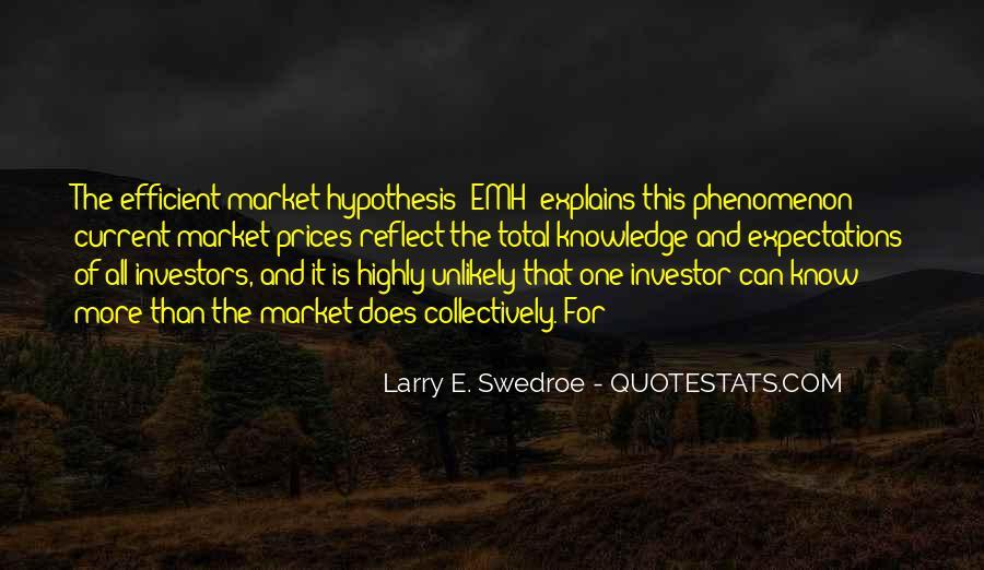 Larry E. Swedroe Quotes #399767