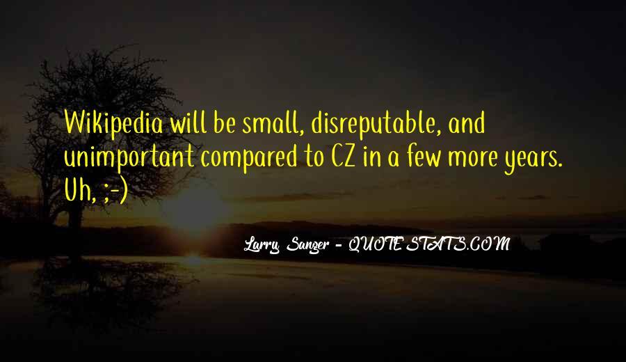 Larry Sanger Quotes #1613590