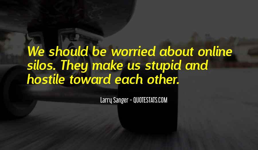 Larry Sanger Quotes #763014