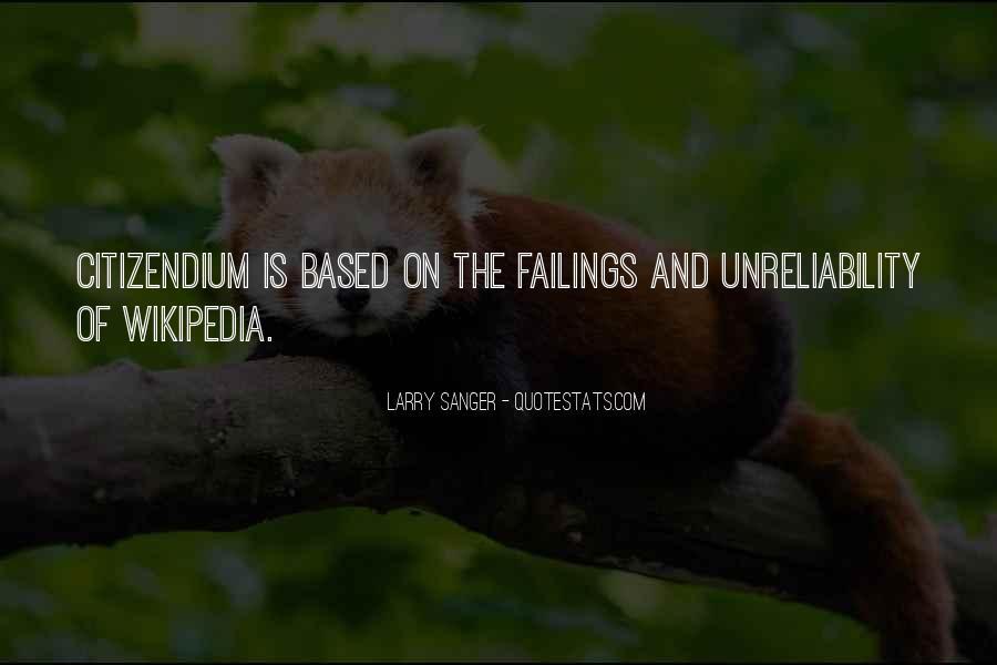 Larry Sanger Quotes #987677