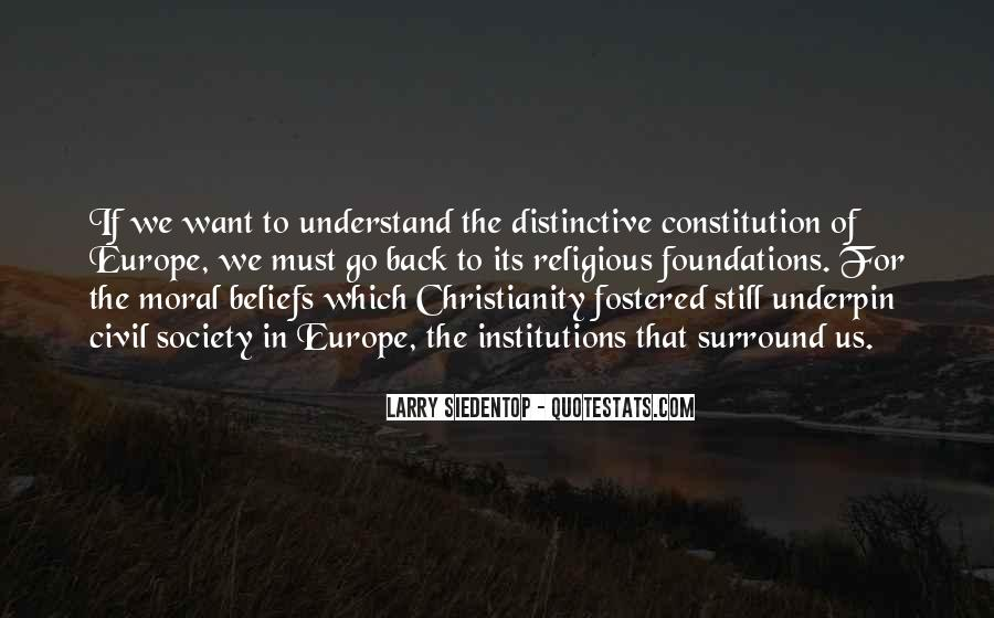 Larry Siedentop Quotes #218042