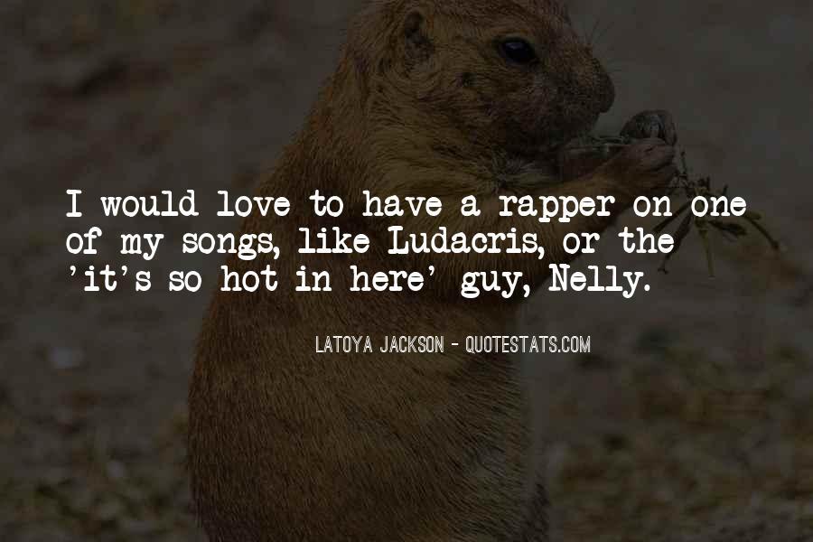 LaToya Jackson Quotes #1858528