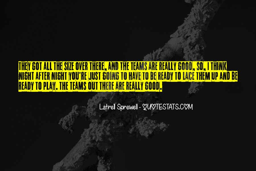 Latrell Sprewell Quotes #1035293