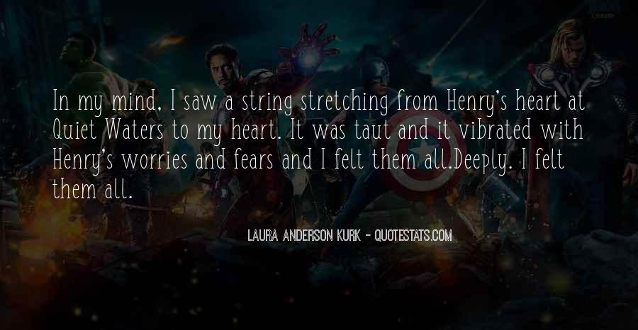 Laura Anderson Kurk Quotes #1014958