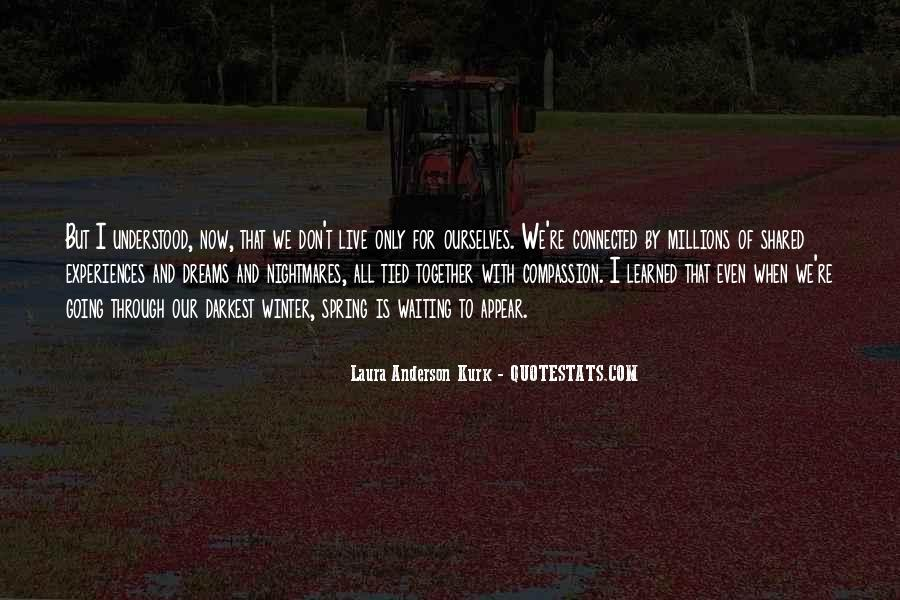 Laura Anderson Kurk Quotes #1196342
