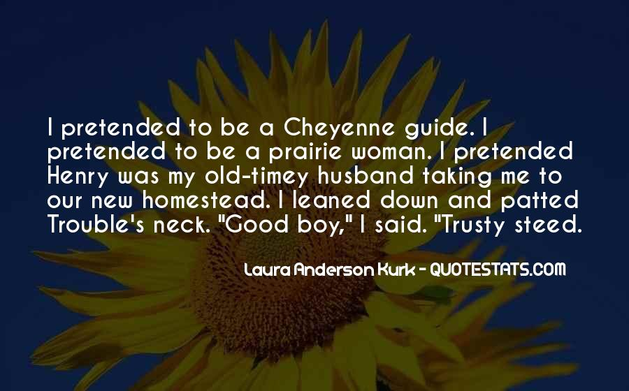 Laura Anderson Kurk Quotes #122844