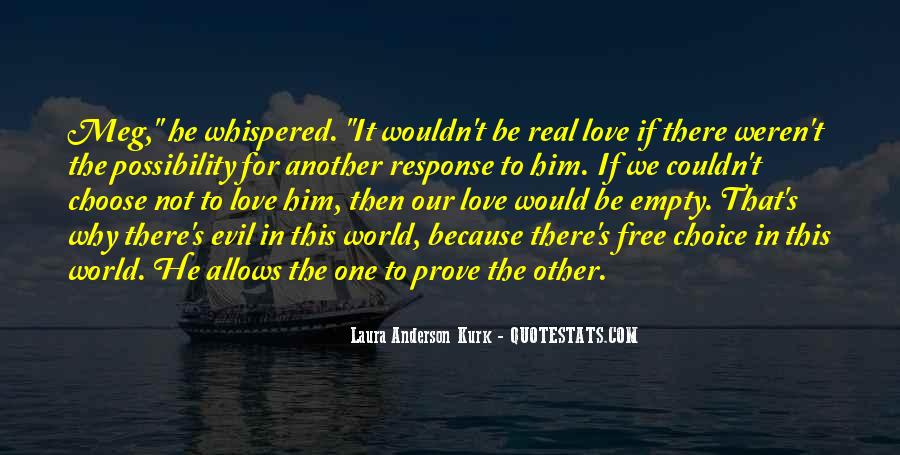 Laura Anderson Kurk Quotes #97853
