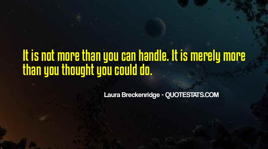 Laura Breckenridge Quotes #66137