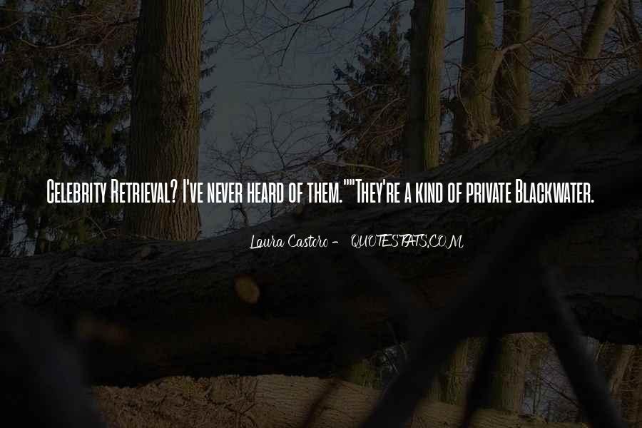 Laura Castoro Quotes #141970