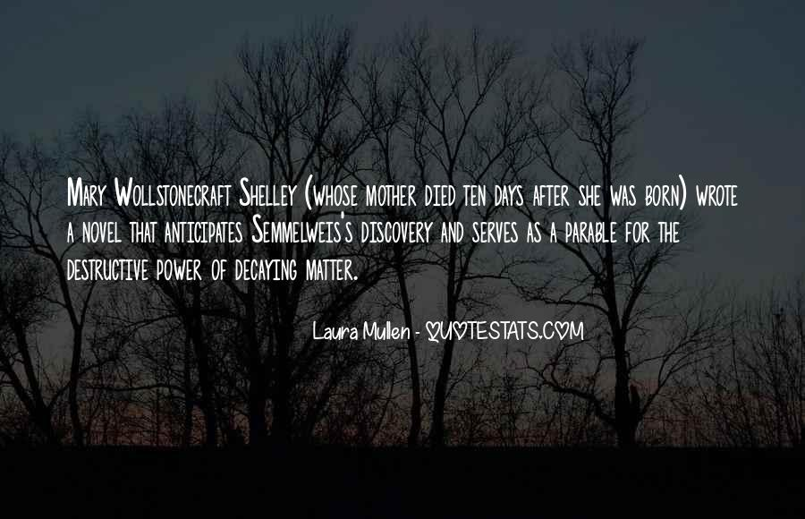 Laura Mullen Quotes #1758857