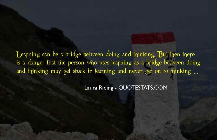 Laura Riding Quotes #343907