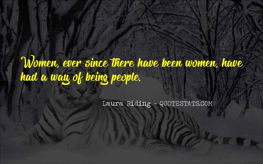 Laura Riding Quotes #597519