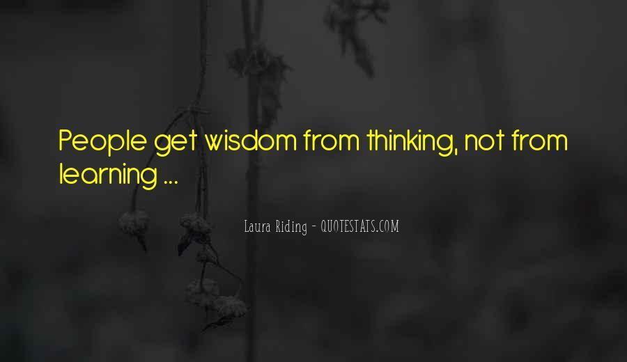 Laura Riding Quotes #849583