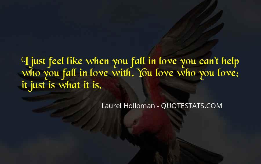 Laurel Holloman Quotes #401001