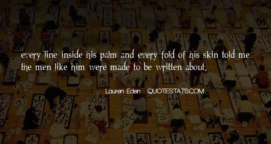 Lauren Eden Quotes #276864