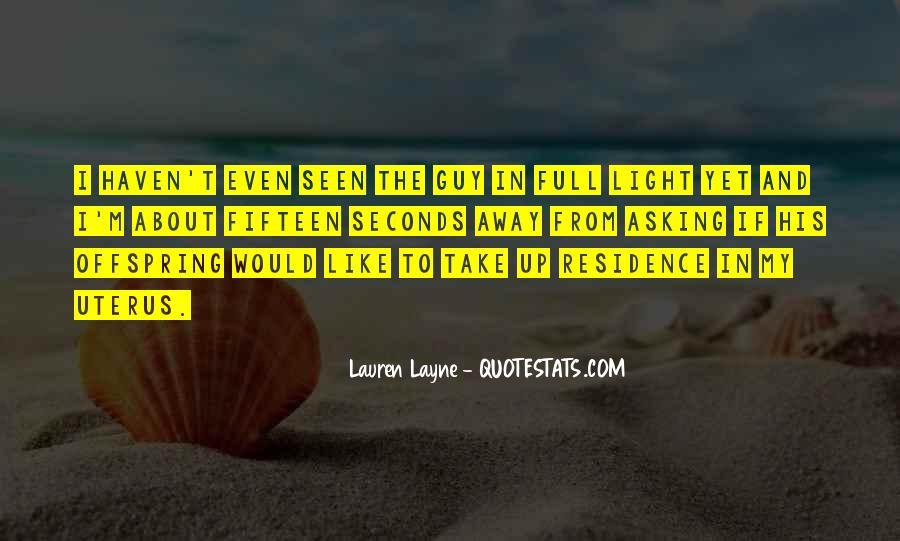 Lauren Layne Quotes #871594