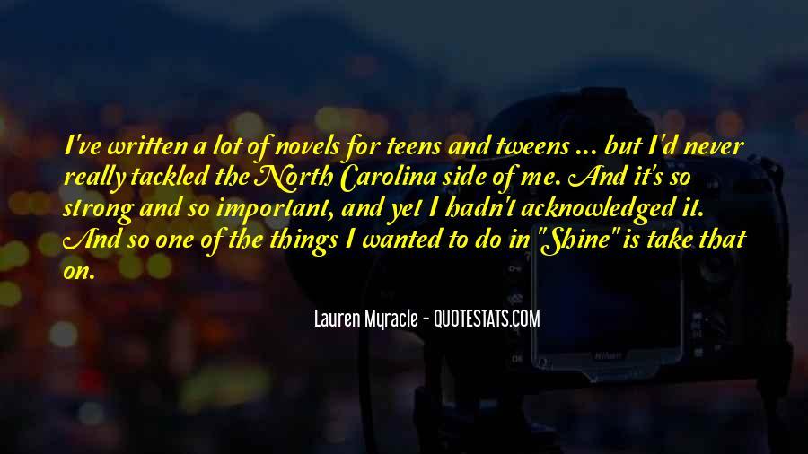 Lauren Myracle Quotes #53371