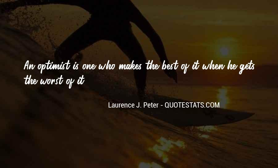 Laurence J. Peter Quotes #1285706