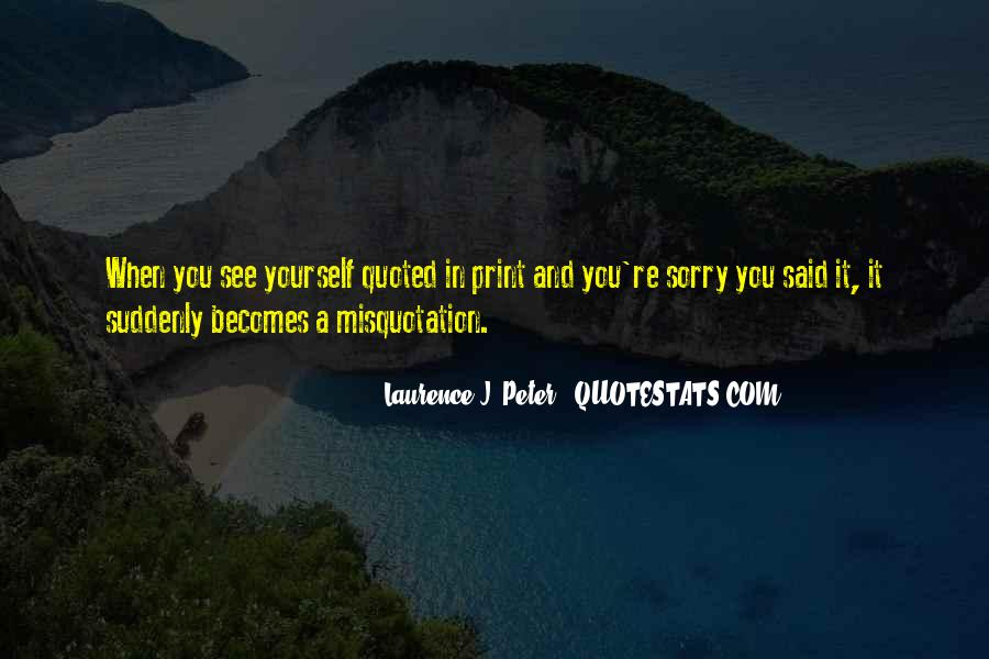 Laurence J. Peter Quotes #178561