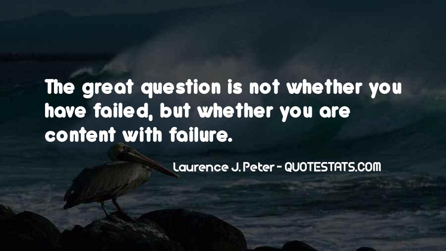Laurence J. Peter Quotes #322218