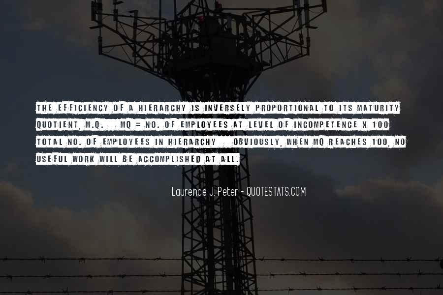 Laurence J. Peter Quotes #935314