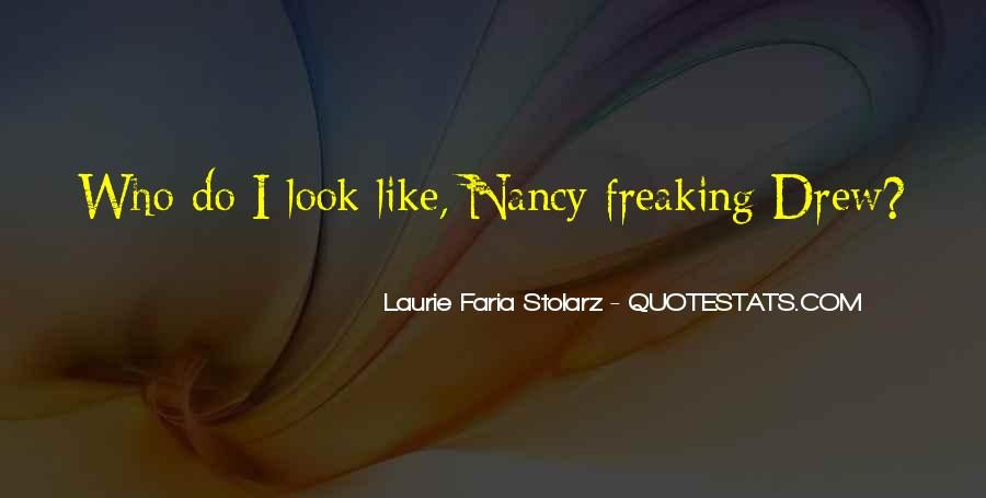 Laurie Faria Stolarz Quotes #1273918