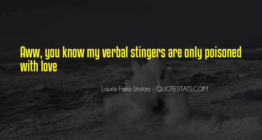 Laurie Faria Stolarz Quotes #146440