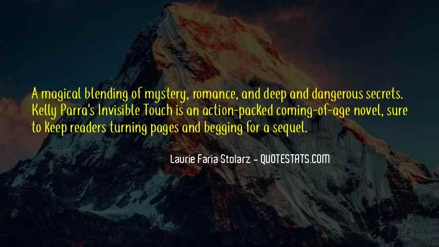 Laurie Faria Stolarz Quotes #39994