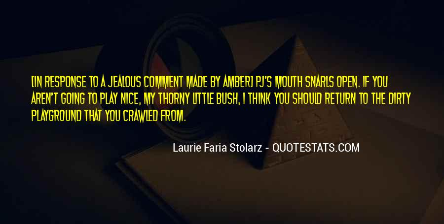 Laurie Faria Stolarz Quotes #774974